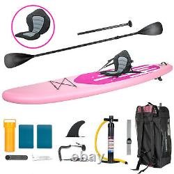 11 Inflatable Stand Up Paddle Board SUP Surfboard with complete Kit Pump Moder