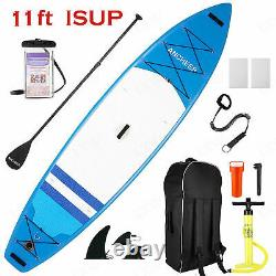 11' Inflatable Stand Up Paddle Board Surfboard SUP Paddelboard ISUP complete kit