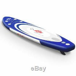 11' Inflatable Stand up Paddle Board Surfboard SUP WithBag Adjustable Paddle Fin