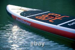 11' Stand Up Paddleboard SUP Displacement Hull (Orange) Kit + 1 Year Warranty