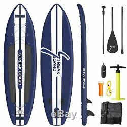 11ft Inflatable Stand Up Paddle Board Non-Slip Deck with SUP Accessories 6'' Thick