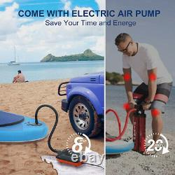 11ft Inflatable Stand Up Paddle Board SUP Surfboard Electric Pump Complete kit