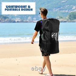 11ft Inflatable Stand Up Paddle Board SUP Surfboard With Leash Backpack Paddle