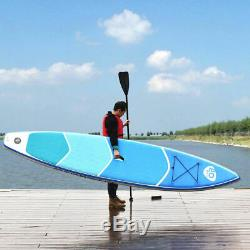 12.5' Inflatable Stand Up Paddle Board with Adjustable Paddle Travel Backpack