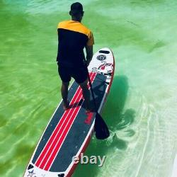 12 Inflatable Stand-Up Paddle Board ISUP Sail Fin PREDATOR