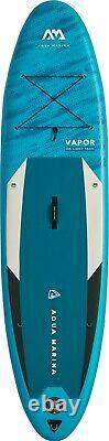 2021 Aqua Marina Vapor Inflatable Stand Up Paddleboard 10'4'' board with paddle