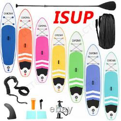6'' Thick Complete Kit Surfboard Inflatable Stand Up Paddle Board Unsex Adults