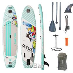 9'9 Inflatable Stand Up Paddle Board SUP Surfboard High Quality Reinforced