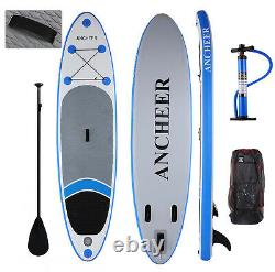ANCHEER 10FT (6''Thick) Inflatable Stand Up Paddle Board iSUP with Accessories A++