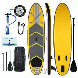 ANCHEER 10FT Inflatable Stand Up Paddle Board (iSUP) Adjustable Paddle Backpack