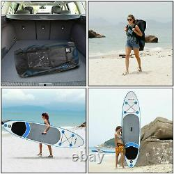 ANCHEER 10FT Inflatable Stand Up Paddle Board iSUP withAdjustable Paddle Backpack