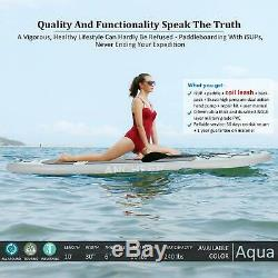ANCHEER 10FT x 32 Inflatable Stand Up Paddle Board ISUP Paddle Water Sports NEW