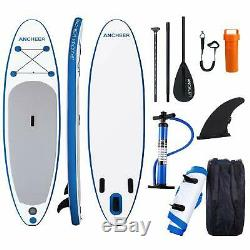 ANCHEER 10' (6 Thick) Inflatable SUP Stand Up Paddle Board CarryPackage