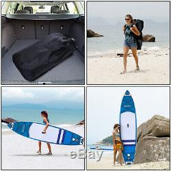ANCHEER 11'6' Inflatable Stand Up Paddle Board Non-Slip Deck Adjustable Paddle
