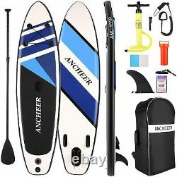 ANCHEER 6x10ft Inflatable Stand Up Paddle Board SUP Surfboard Complete Kit Set`