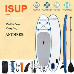 ANCHEER Inflatable Stand Up Paddle Board 10Ft. ISUP Package withAdjustable Paddle
