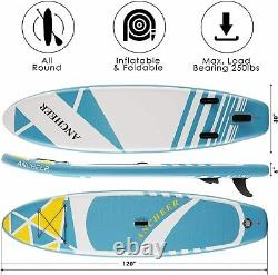 ANCHEER Inflatable Stand Up Paddle Board Surfboard SUP Paddelboard 10' x 6 ISUP
