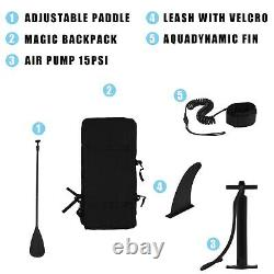 All Skill Level 10.6FT Inflatable Stand-Up Paddle Combo Surboard Set
