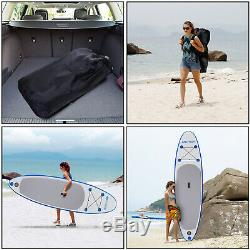 Ancheer 10' Inflatable Stand Up Paddle Board Bundle for Paddling and Surfing NEW