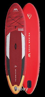 Aqua Marina Atlas Stand Up Paddle Board Inflatable SUP with Paddle I-SUP