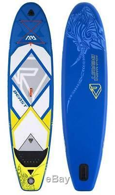 Aqua Marina Beast Paddle Board 10'6 Inflatable Stand Up Paddleboard with Paddle