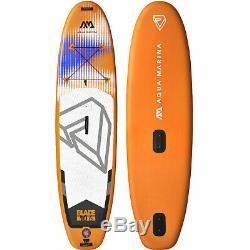 Aqua Marina Blade Board SUP-Set Windsurfen Stand Up Paddle ISUP Inflatable Surf