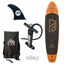 Aqua Marina FUSION Inflatable Stand Up PADDLE BOARD 10' 10