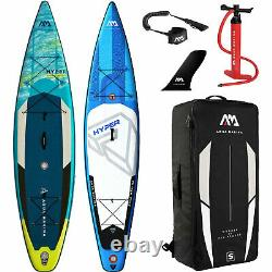 Aqua Marina Inflatable Hyper SUP ISUP Stand Up Paddle Board Allround Touring SET