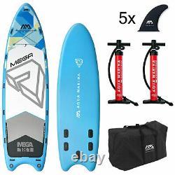 Aqua Marina Inflatable MEGA SUP iSUP Stand Up Paddle Board Mehrpersonen Fun Surf