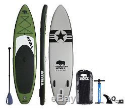 Atoll 11'0 Foot Inflatable Stand Up Paddle Board, FREE pick up Orange County