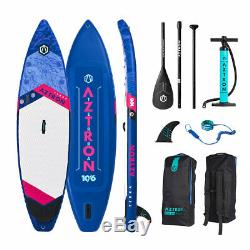 Aztron TERRA Inflatable Stand Up Paddle Board SUP Touring 10'6 Double Chamber