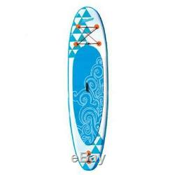 Banzai 10' Inflatable Stand Up Paddle Board, Adjustable Paddle & Backpack (Used)