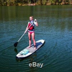 Bestway 122 in. Inflatable Hydro-Force Wave Edge Stand Up Paddle Board (2-Pack)