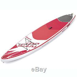 Bestway Hydro Force Inflatable 12 Foot SUP Stand Up Paddle Board Kayak with Pump