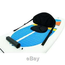 Bestway Hydro-Force White Cap Inflatable SUP Stand Up Paddle Board & Kayak(Used)