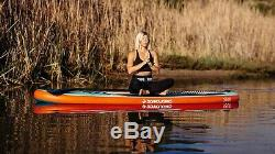 Boardworks SHUBU Solr All Round Yoga Inflatable Stand-Up Paddle Board (iSUP)