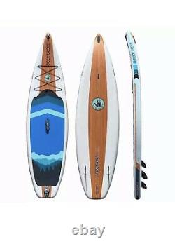Body Glove Performer 11' Inflatable Stand Up Paddle Board Package Water Sports