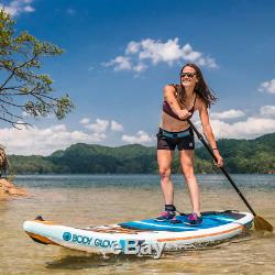 Body Glove Performer 11 ft Inflatable Stand Up Paddle Board Package