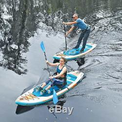 Brand New Body Glove Porter 9'6 Inflatable Kayak Stand Up Paddle Board Package