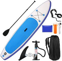 CAROMA 10.5ft Inflatable Stand Up Paddle Board Surfboard Pump Backpack 6'' Thick