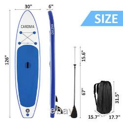 CAROMA 10´ Inflatable Stand Up Paddle Board SUP Surfboard with complete kit