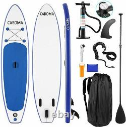 CAROMA 11' Inflatable Stand Up Paddle Board iSUP Surfboard with complete kit NEW