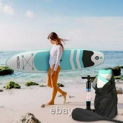 Caroma SUP Inflatable Stand Up Paddle Board, Non-Slip Deck Surf Boards Adults Yo