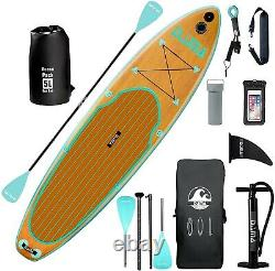 DAMA Wood wide (11'x33x6) Inflatable Stand Up Paddle Board