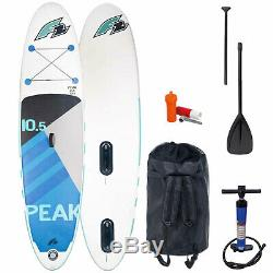 F2 Inflatable Peak Windsurf WS SUP Stand Up Paddle Board I-SUP Surfboard SET