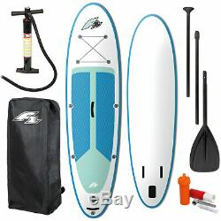 F2 Inflatable Strato SUP SET I-SUP Stand Up Paddle Board mit Paddel Aufblasbar