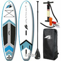 F2 Team WS Windsurf SUP-Set Stand Up Paddle Board Paddel Inflatable Surfboard