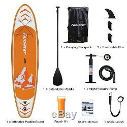 Famistar Inflatable SUP Stand Up Paddle Board, 12'X30x6 with Full Accessories