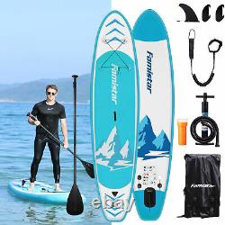 Famistar Inflatable SUP Stand Up Paddle Board, 8.7'X30x6 with Full Accessories