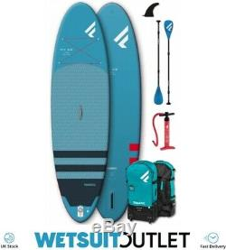Fanatic Fly Air 10'8 Inflatable SUP Stand Up Paddle Boarding Package Board